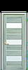 Дверь межкомнатная ЛИЛУ СО СТЕКЛОМ САТИН, фото 5