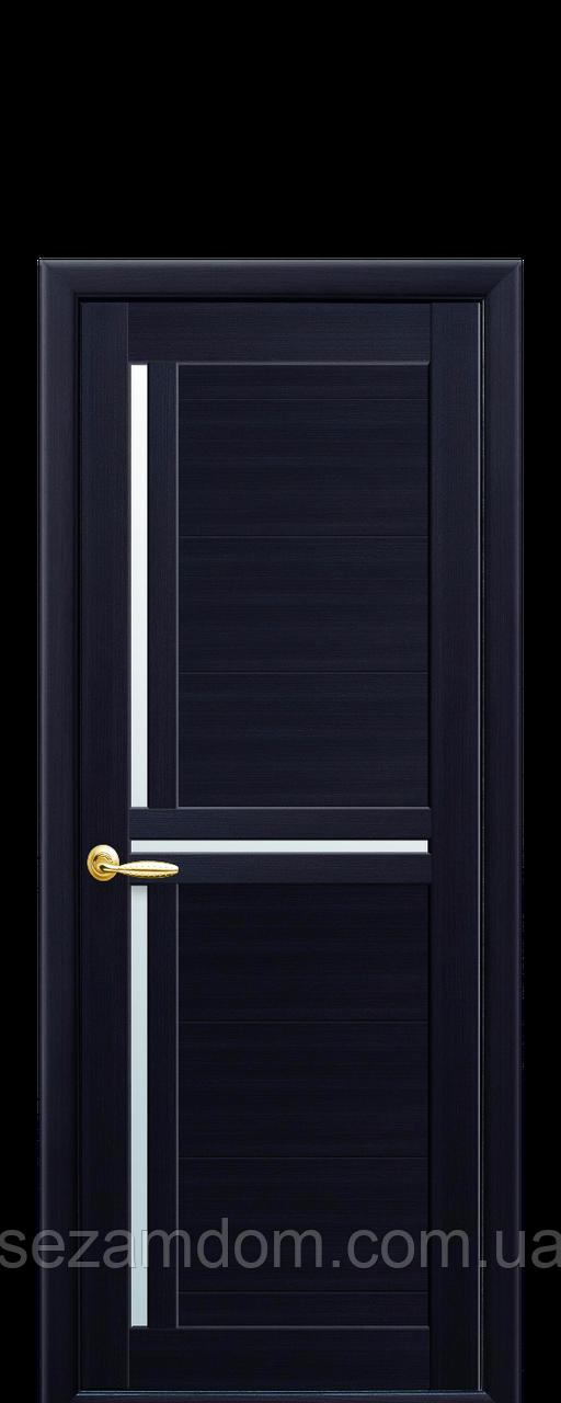 Дверь межкомнатная ТРИНИТИ СО СТЕКЛОМ САТИН