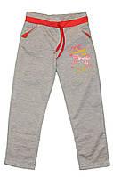 Штаны спортивные из тонкого трикотажа для девочек. размеры 5-8 лет