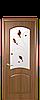 Дверь межкомнатная АНТРЕ СО СТЕКЛОМ САТИН И РИСУНКОМ №4, фото 2
