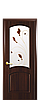 Дверь межкомнатная АНТРЕ СО СТЕКЛОМ САТИН И РИСУНКОМ №4, фото 3