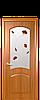 Дверь межкомнатная АНТРЕ СО СТЕКЛОМ САТИН И РИСУНКОМ №4, фото 4