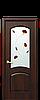 Дверь межкомнатная АНТРЕ СО СТЕКЛОМ САТИН И РИСУНКОМ №4, фото 5