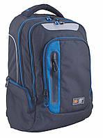 Рюкзак подростковый  YES T-22 With blue 553137