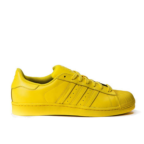 Женские кроссовки Adidas x Pharrell Superstar Green
