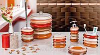 Набор аксессуаров для ванной комнаты из 6 предметов серия Милли