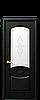 Дверь межкомнатная ДОННА СО СТЕКЛОМ САТИН И РИСУНКОМ, фото 2
