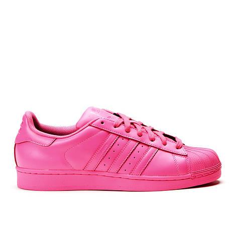 Женские кроссовки Adidas x Pharrell Superstar Pink