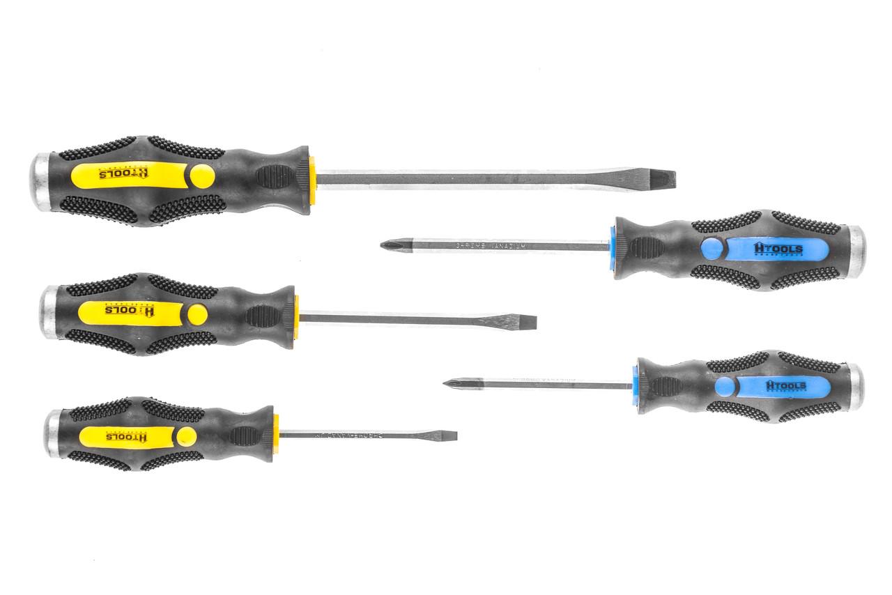 Набор ручных ударных отверток 5 шт. Htools (39K505)