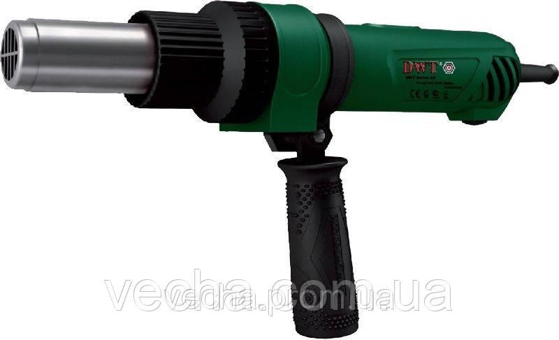 Фен HLP 15-500 DWT (дополн. рукоятка + насадки)