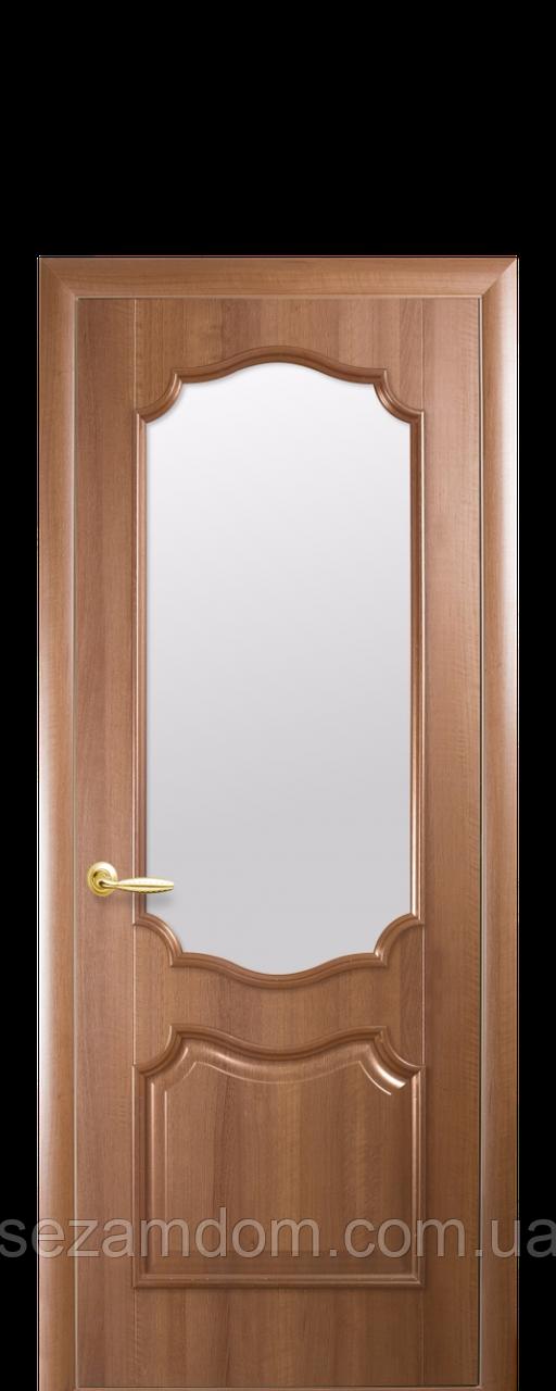 Двері міжкімнатні РОКУ ЗІ СКЛОМ САТИН