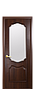 Двері міжкімнатні РОКУ ЗІ СКЛОМ САТИН, фото 2