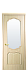 Дверь межкомнатная РОКА СО СТЕКЛОМ САТИН, фото 3