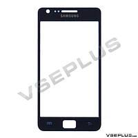 Стекло Samsung i9100 Galaxy S2, синий