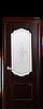 Дверь межкомнатная РОКА СО СТЕКЛОМ САТИН И РИСУНКОМ №1, фото 5