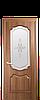 Дверь межкомнатная РОКА СО СТЕКЛОМ САТИН И РИСУНКОМ №1, фото 4