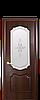 Дверь межкомнатная РОКА СО СТЕКЛОМ САТИН И РИСУНКОМ №1, фото 6
