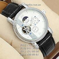 Дизайнерские мужские наручные часы Слава Созвездие Механика Black/Silver/White