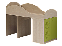 Маугли МДМ-2 лайм кровать-чердак