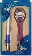 """Подарочный набор женский """"Автоматическая ручка,Наручные часы"""".Бизнес подарок.Деловой подарок.Идея для подарка."""