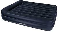 Надувная кровать Queen Rising Comfort Intex 66720
