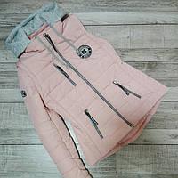 демисезонные женские куртки-жилетки