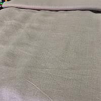 Лён серо-бежевый, ширина 150 см, фото 1