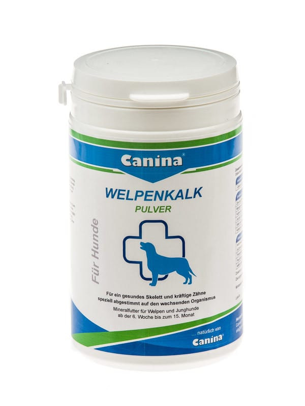 Canina Welpenkalk Pulver добавка для щенков 300г (120703)