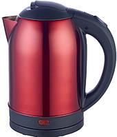 Чайник электрический 2л Defiant DEK2000-208S_Red