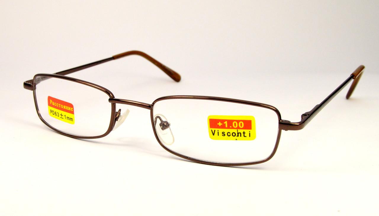 Очки для зрения металл (D999)