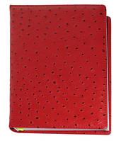 """Датированный ежедневник А5 Найроби (коллекция """"БИЗНЕС""""), красный, от 10 шт, фото 1"""