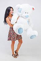 """Большая мягкая игрушка """"Медведь Гриша"""" 140 см. Белый"""