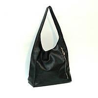 Женская сумочка. Модель 18 черный флотар