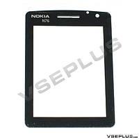 Стекло Nokia N76, черный