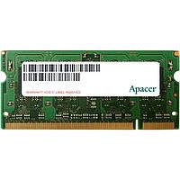Модуль памяти для ноутбука SoDIMM DDR2 2GB 800 MHz Apacer (AS02GE800C6NBGC)