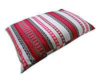 Подушка 40х60 из гречневой шелухи тк.лен