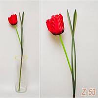 Тюльпан гофрированный Z - 53 (5 шт./ уп.) Искусственные цветы