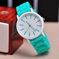 Женские часы Geneva quartz мятные, фото 1