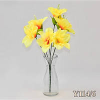 Нарцисс букет (40 шт./ уп.) Искусственные цветы