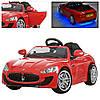 Детский электромобиль  Maserati M 3285 EBLR-3: EVA, 2.4G, 7 км/ч- Красный- купить оптом