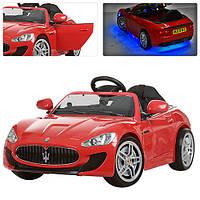 Детский электромобиль  Maserati M 3285 EBLR-3: EVA, 2.4G, 7 км/ч- Красный- купить оптом, фото 1