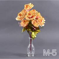 Роза снег М-5/12 (12 шт./ уп.) Искусственные цветы