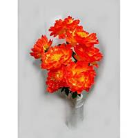 Роза - пион букет, kс-2, 75 см (7 шт./уп.) Искусственные цветы