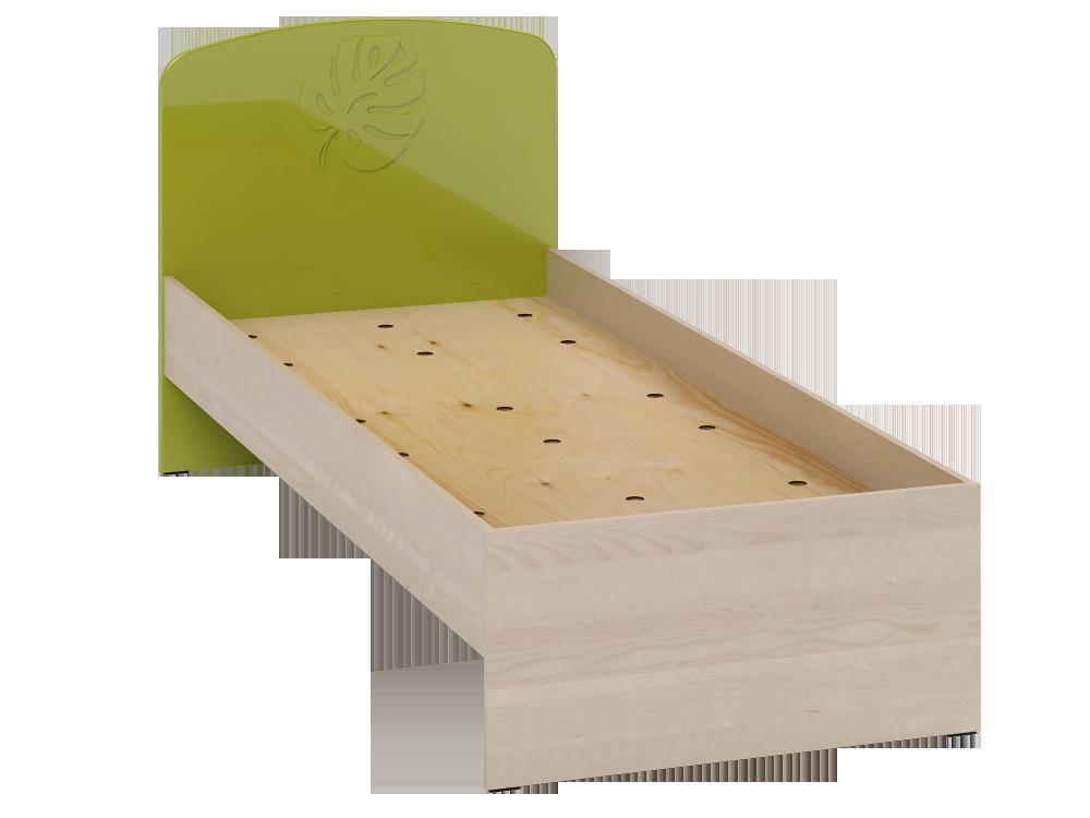 Маугли МДМ-11 лайм кровать без ламелей