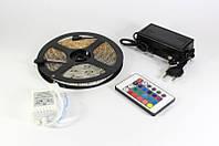 LED лента 5050 RGB цвет ные диоды. +адаптер +контроллер