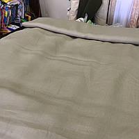Лён цвета капучино, ширина 150 см, фото 1