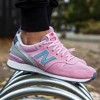 Кроссовки беговые женские New Balance 996 Pink Grey