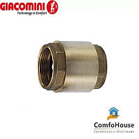 "Дисковый обратный клапан Giacomini R60Y006 1*1/4"""