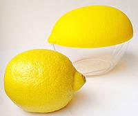 Контейнер для лимона ,пищевой  пластик, 120мм*85мм.