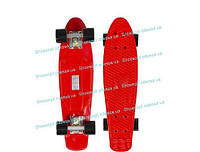 Пенни борд Penny Board скейтборд/ скейт красный, фото 1